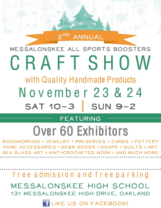 MASB Craft Show Poster 2013