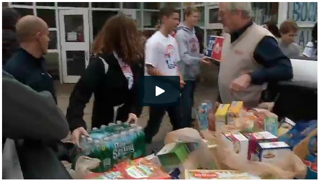 Once again the Messalonskee High School Food Drive was a huge success!