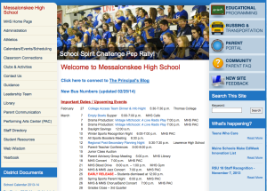 MHS Website